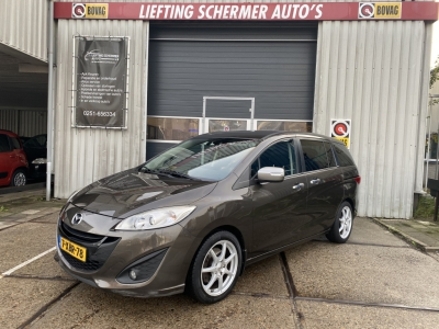 Mazda 5, 7 PERSOONS 2.0 Silver Edition